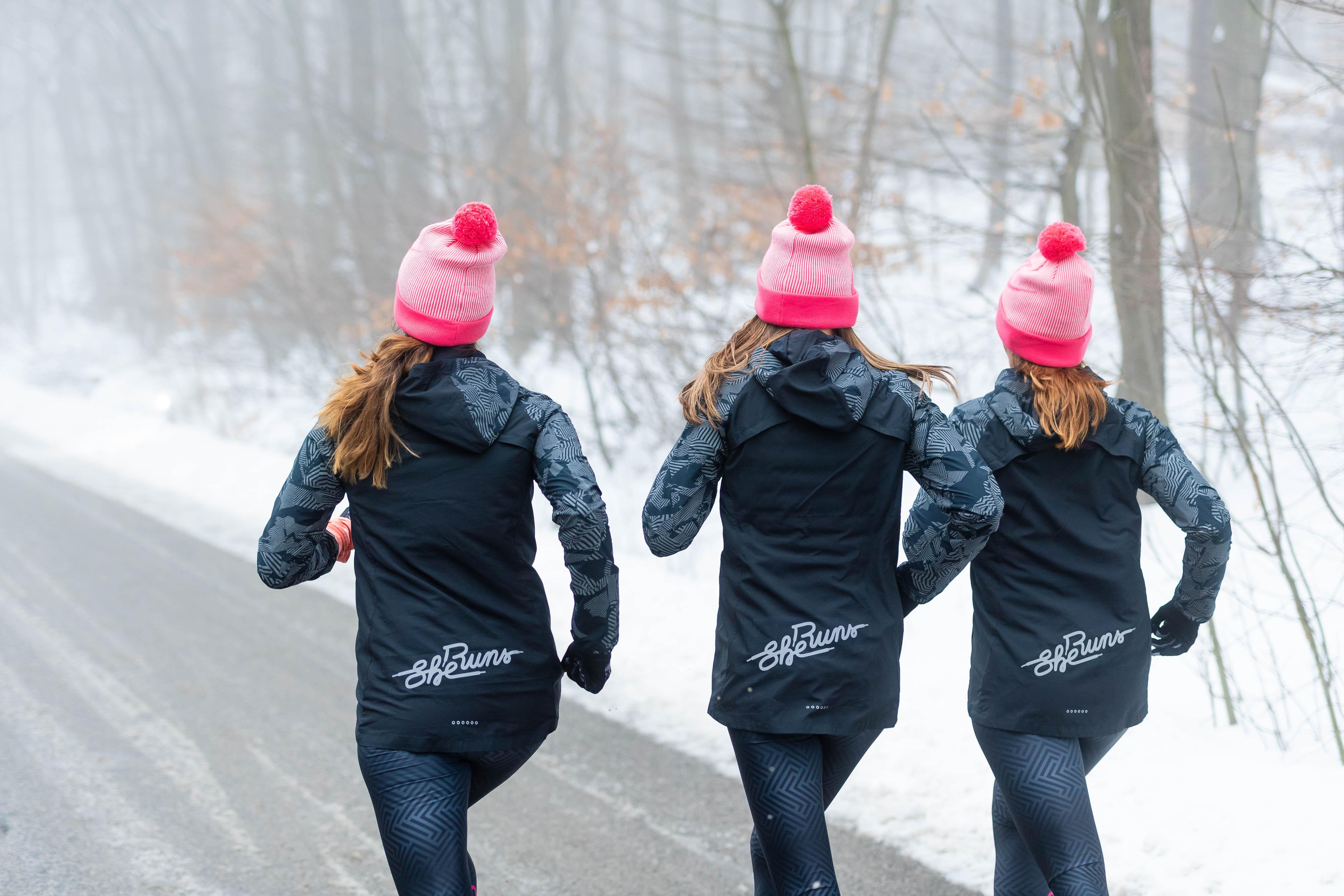 tréningy pre ženy v zime