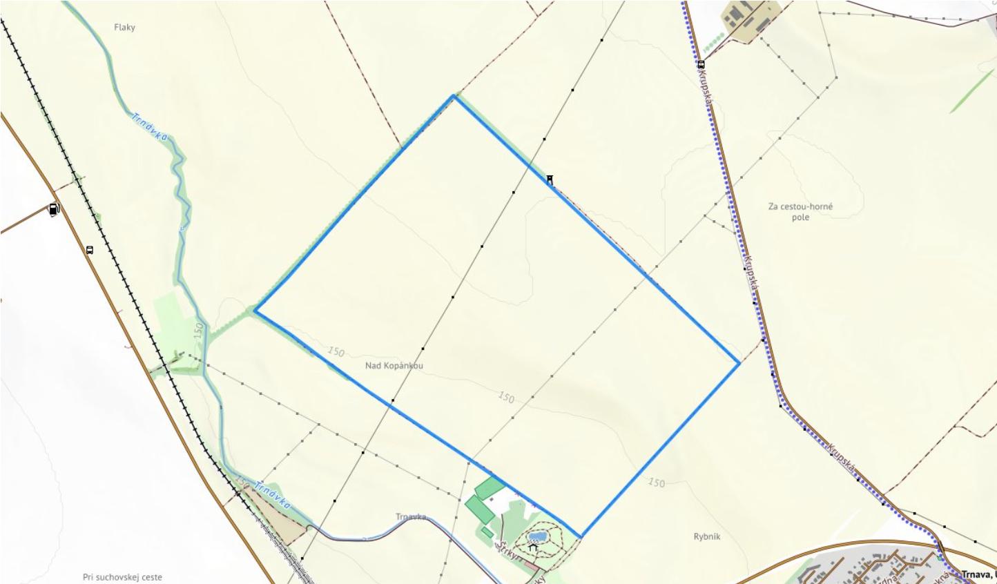 mapa 5km (Trnava)