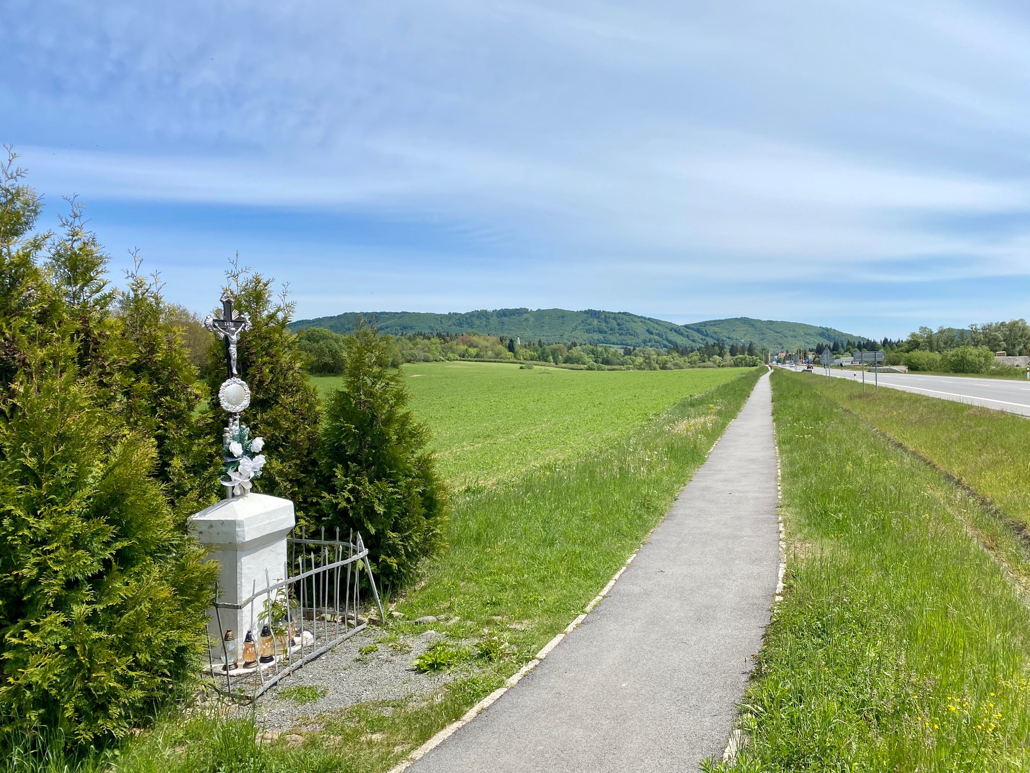 Trasa podľa Márie Adamečkovej (Prešovský kraj)