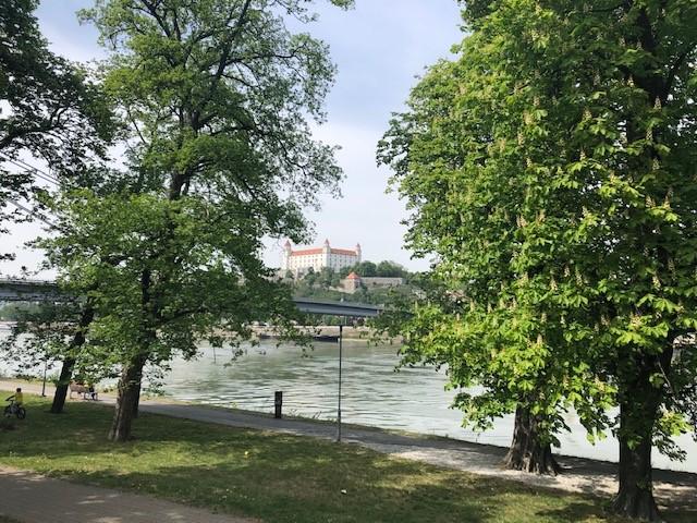 Trasa podľa Jozefa Pukaloviča - Bratislava