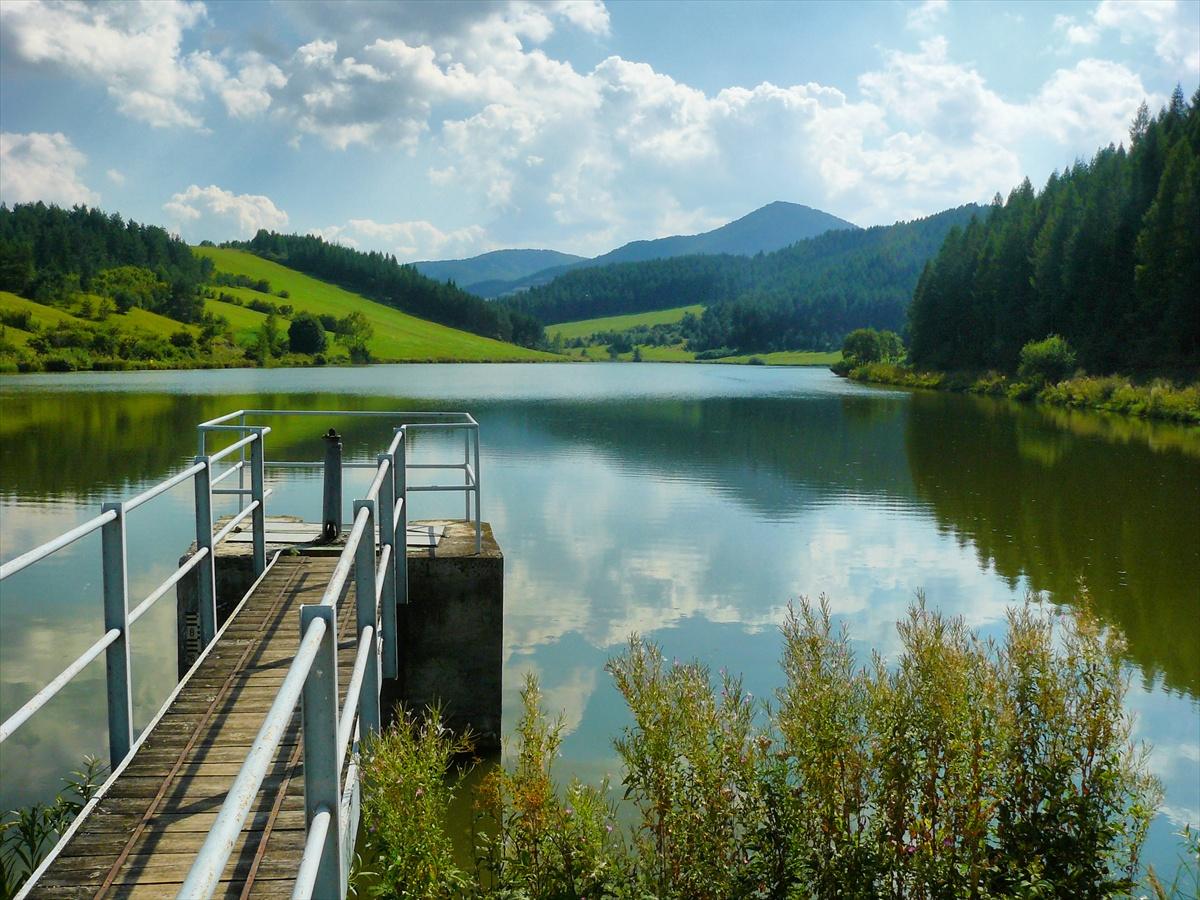 Okolo Rajeckého rybníka Košiare (Žilinský kraj)
